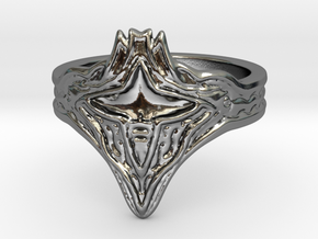 Calamity Ring, Size 8.5 in Premium Silver
