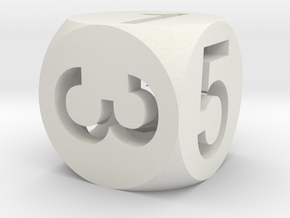 Dx - D6 in White Strong & Flexible