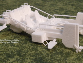 AC12 M12 Cargo Mule (28mm) in White Strong & Flexible