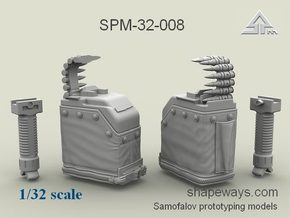 1/32 SPM-32-008 LBT MK48 Box Mag (middle) in Frosted Extreme Detail