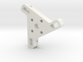 Docking End Affector Base Ver 2 in White Strong & Flexible