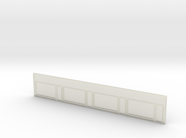 Strip Mall Front 3B Clear Z Scale