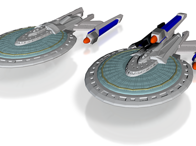 Griffin Class Cruiser & Griffin Class Refit Fast C 3d printed