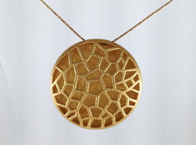 Bio Cell Pendant #2 3d printed