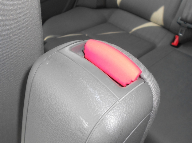 Audi A4 B6 Mittelarmlehne/Armrest lid Standart/IMA 3d printed Example in Coral Red Strong