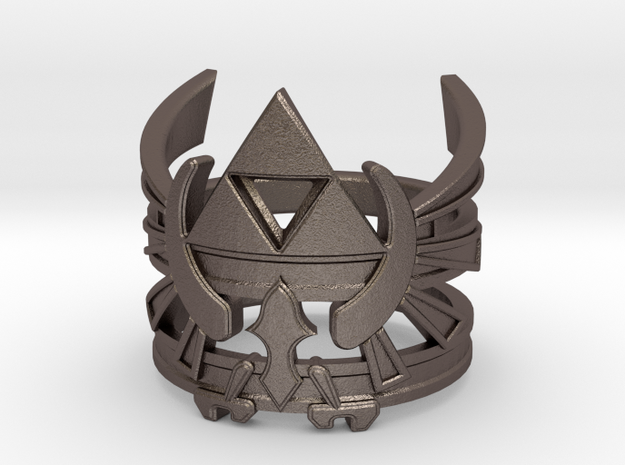 Triforce ring - Zelda - medium sizes (15 to 22)