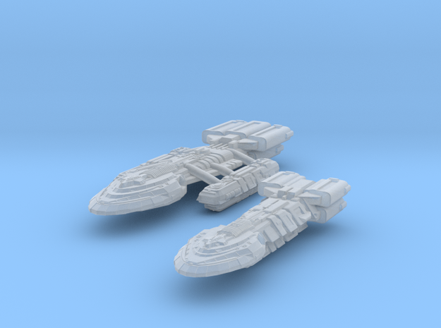 Supper BattleStar & BattleDestroyer 3d printed