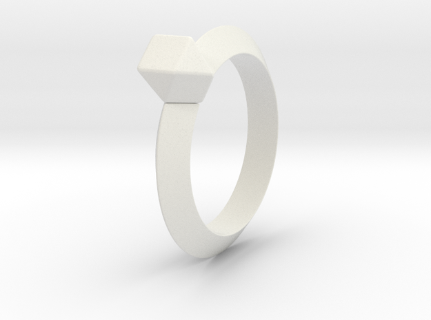 Kurtis - Ring - US 6¾ - 17.12 mm 3d printed