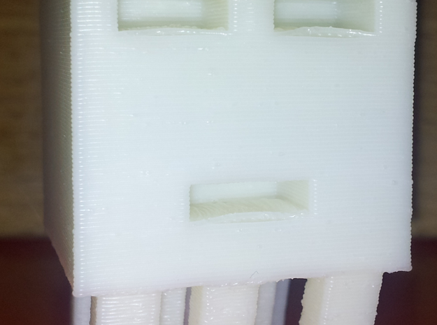 Ghast Big 3d printed This is a big ghast that sits level. Makes a great desk toy