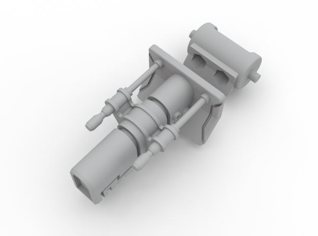 Turret Ion Cannon SW 130515 3d printed