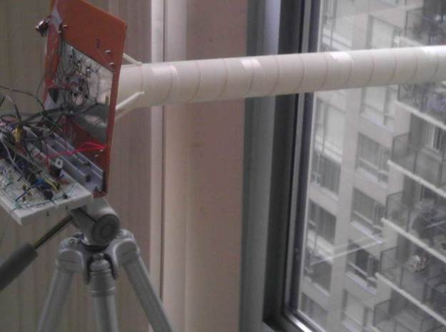 Rover / Ground station, 2.4GHz antena 3d printed