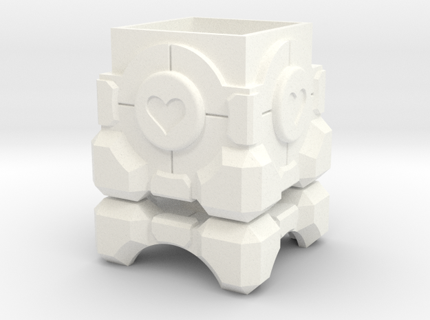 Companion Cube Box (1.5 inch / 37 mm)