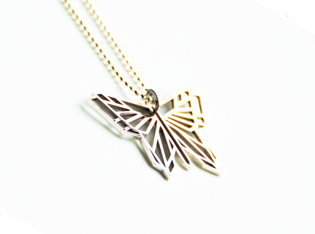 Butterfly Pendant 3d printed