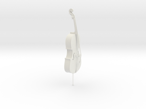 Cello 3d printed print on table