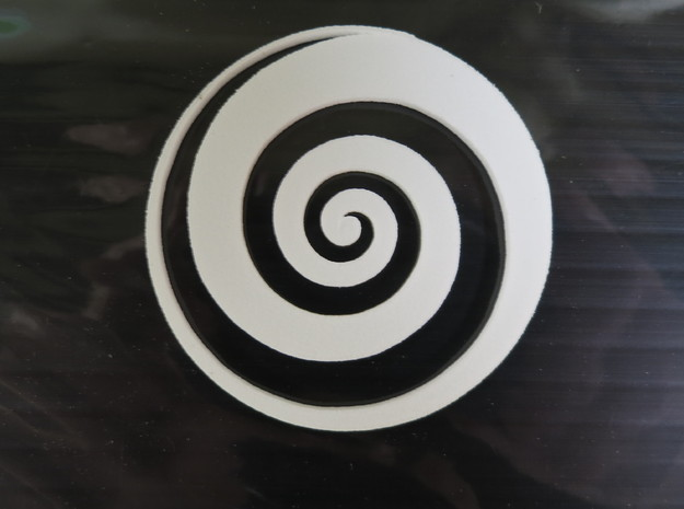 Spiraled - 2 Inch 3d printed