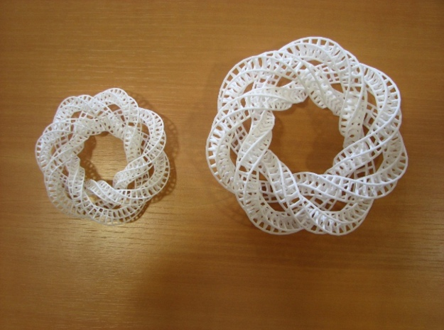 StarKnot 3d printed Available in small or medium. This one is medium.