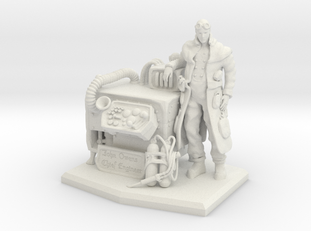 Chief Engineer 3d printed