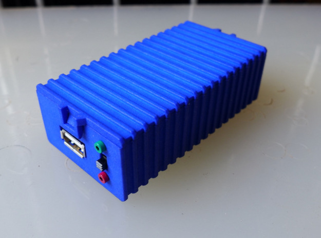 Adafruit MintyBoost Box 3d printed
