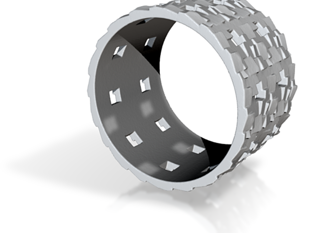 Puzzle Box Ring Size 10 3d printed