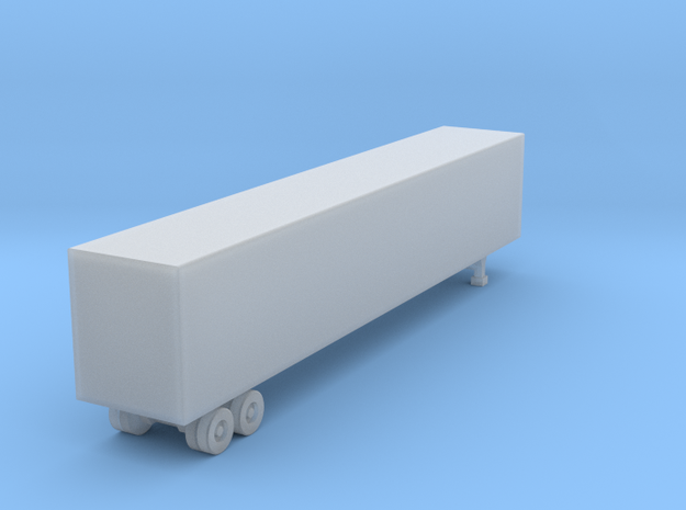 53 Foot Box Trailer - Z scale