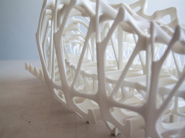 Womb of After Life Part 1 3d printed
