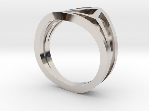 Ring3551 Big O Geo Size6 Van K Le Love And Keep 3d printed
