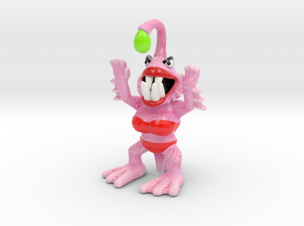 Betty Bloop 3d printed