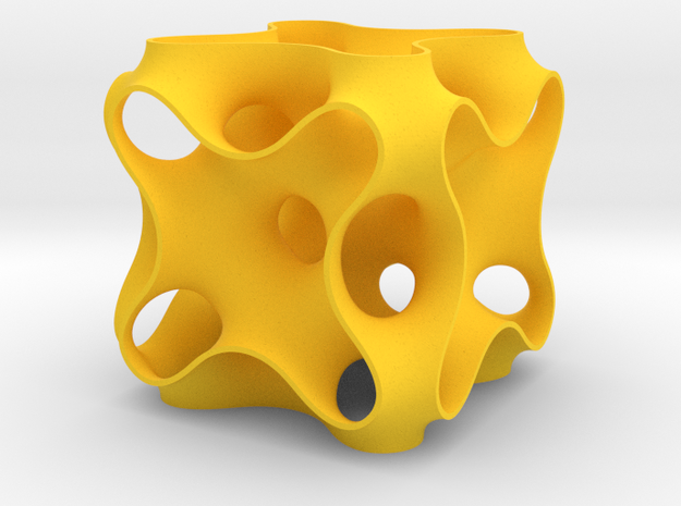 Schoen's CPA periodic minimal surface 3d printed