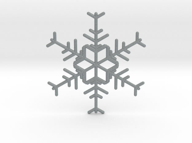 Snowflakes Series I: No. 1 3d printed