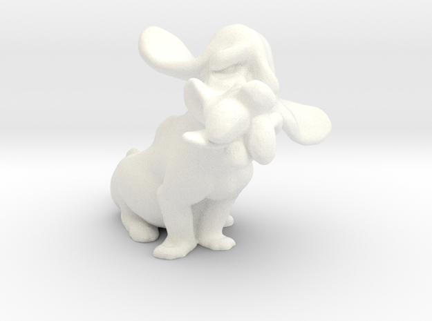 Hound Dog 3d printed