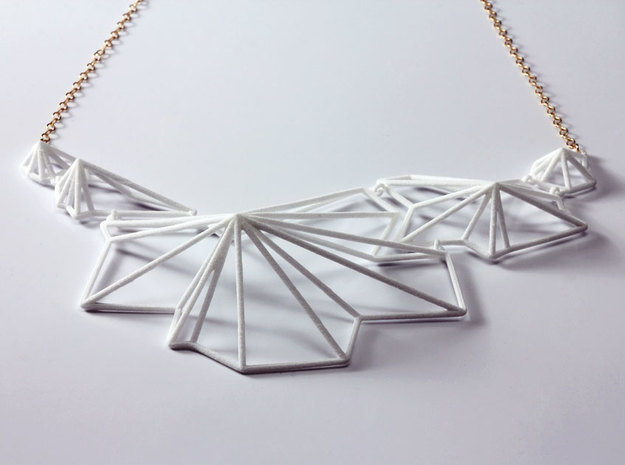 Andromeda Necklace 3d printed