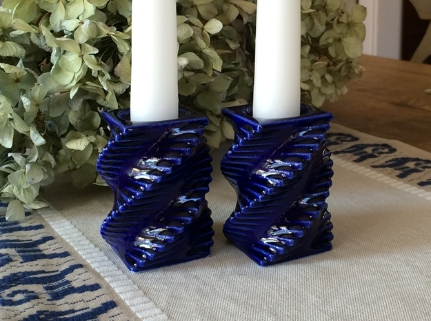 Porcelain Step Candle Holder (Small)
