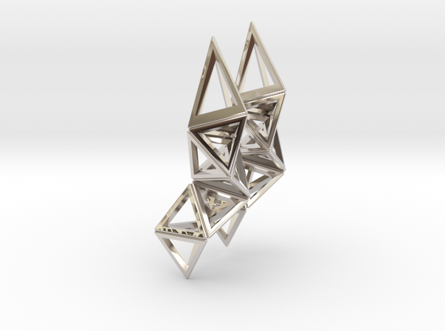 CRYSTAL - earrings 3d printed