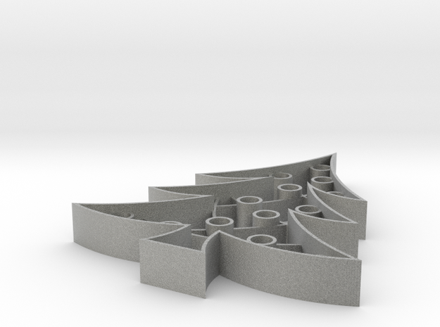 Christmas Tree Cookie Cutter (3 layers, 10 mm) 3d printed
