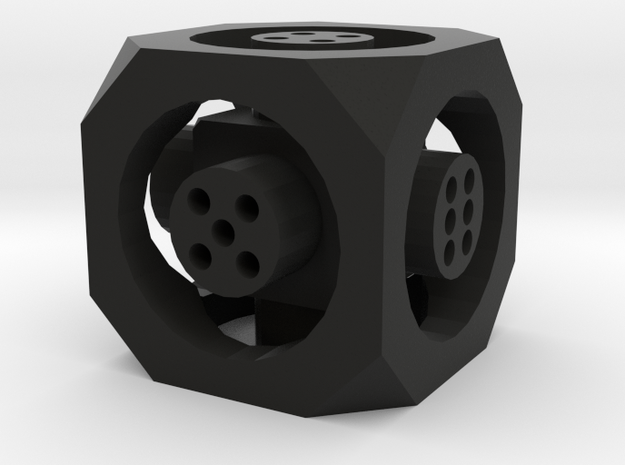 Floating Die (d6) 3d printed