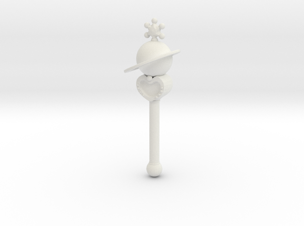 sm wands saturn: miniature 1/6 for dolls 3d printed