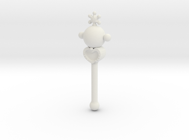sm wands pluto: 1/6 scale for dolls 3d printed