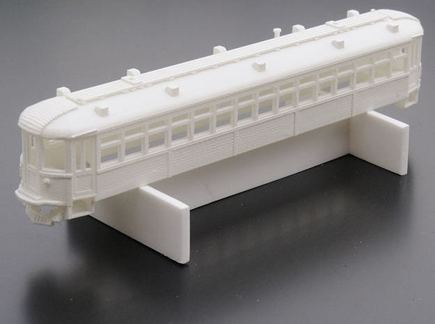 CNSM 150 - 164 series coach 3d printed Sprayed in grey primer