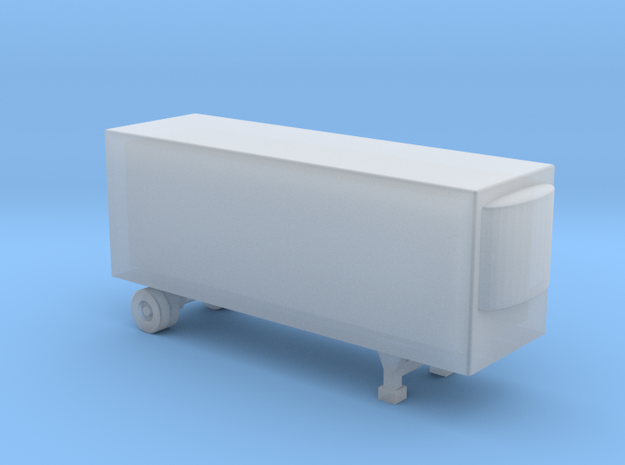28 Foot Refrigerated Trailer - Z scale 3d printed