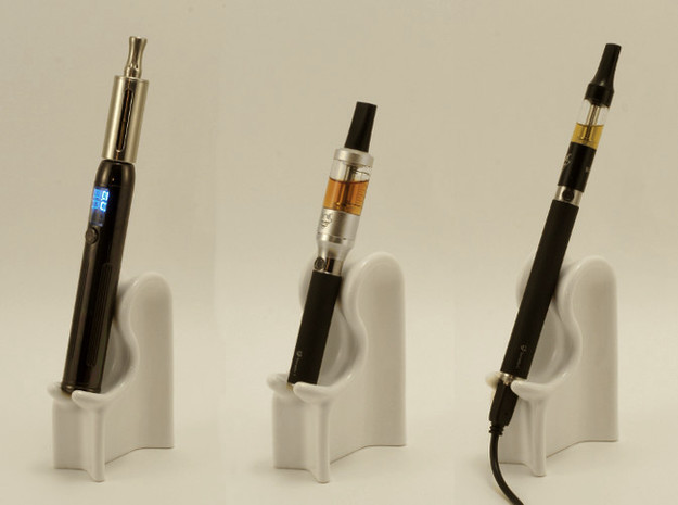 E-Cig Cradle: The Nicolounger, web style 3d printed