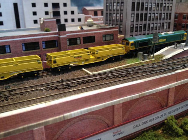 N Gauge MRA Wagon set 3d printed
