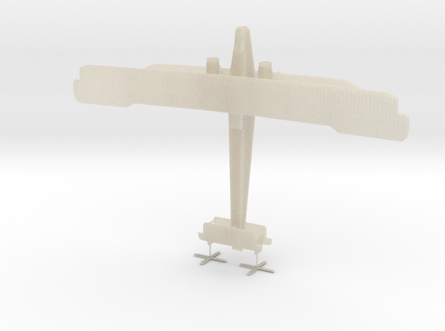 1/144 Handley Page O/400 3d printed