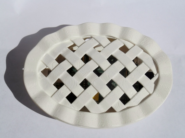 Pi Dish 3d printed Pastry on!