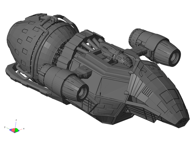 Mk-1 Freighter 3d printed