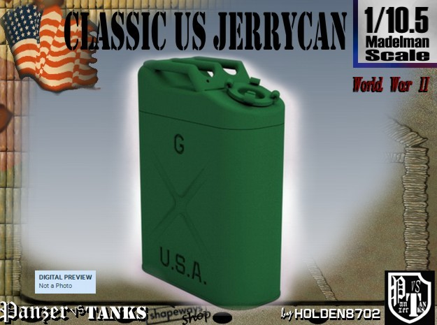 1/10.5 US Army Jerrycan