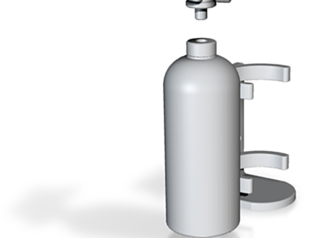 Fire Extinguisher Assembly 3d printed