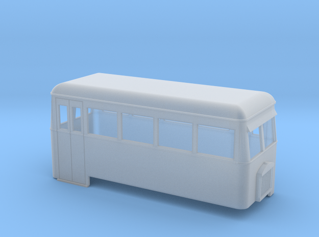 O9/On18 rail bus double end 3d printed