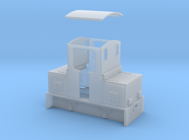 O9 Battery electric loco 3d printed