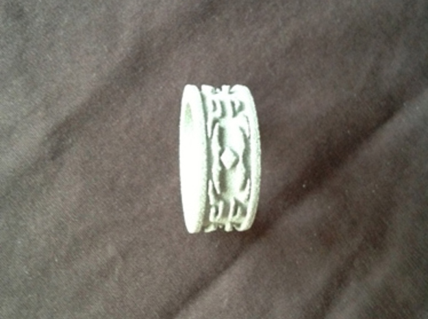 Rune Ring 2 Ring Size 9 3d printed An unpainted example