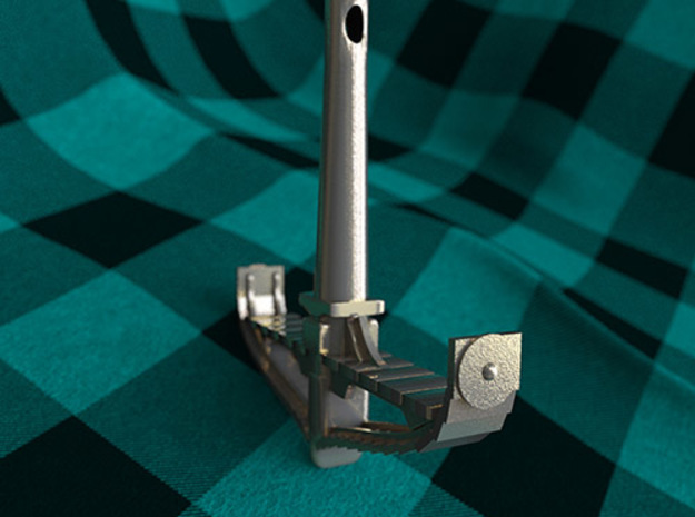 Longboat Cross-section Thor's Hammer 3d printed Thor's Hammer/Longboat Cross-section 3/4 view